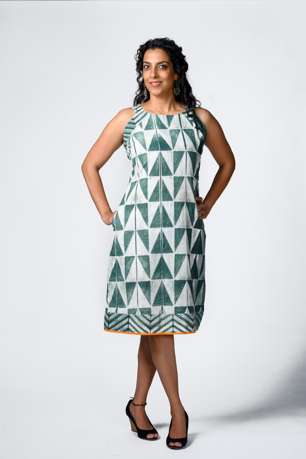 AMAR-KOSA-Shibori-Shift-Dress